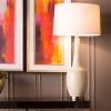 Dimond White Table Lamp