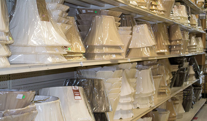 Lamp Shade Selection At Lux Lighting Ltd